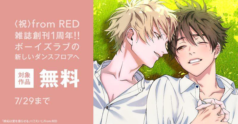 〈祝〉from RED雑誌創刊1周年!!ボーイズラブの新しいダンスフロアへ